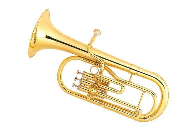Духовой музыкальный инструмент альт