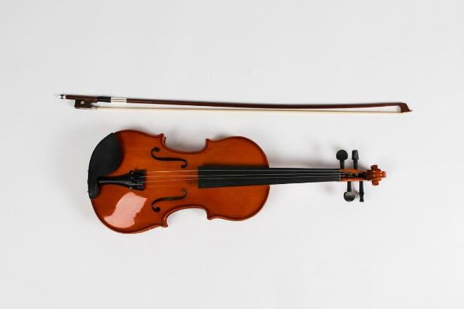Струнный музыкальный инструмент альт