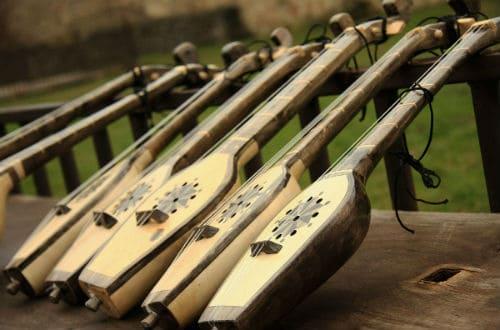 Как выглядит инструмент чонгури?