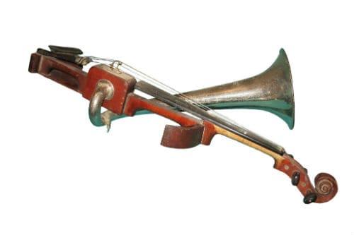 Музыкальный инструмент скрипка Штроха