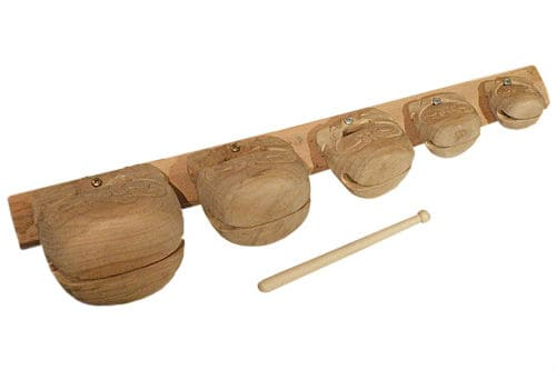 Музыкальный инструмент тэмпл-блок
