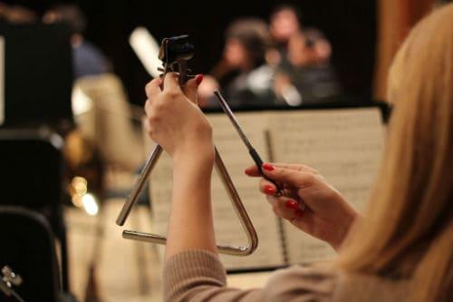 Треугольник в составе оркестра