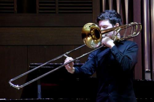 Игра на тромбоне