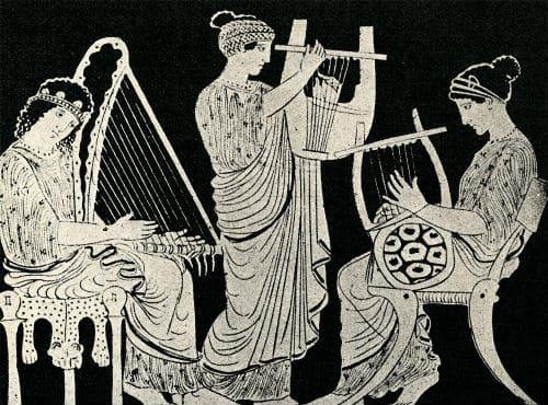 Античные рисунки
