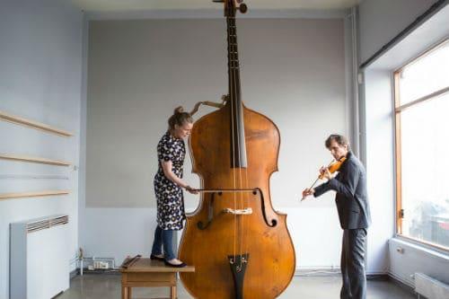 Музыкальный инструмент октобас