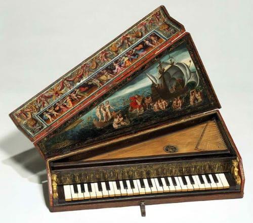 Верджинел - разновидность клавесина