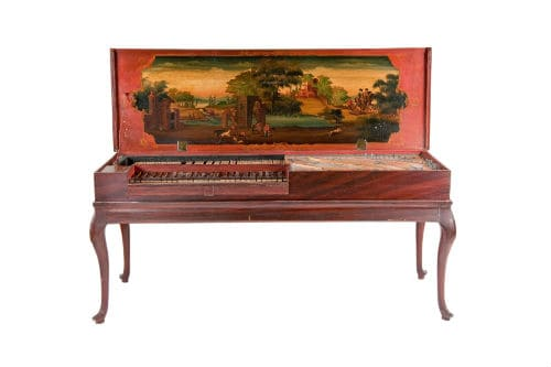 Музыкальный инструмент клавикорд
