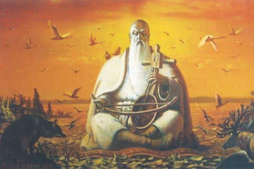 Легенда о Коркыте и кобызе