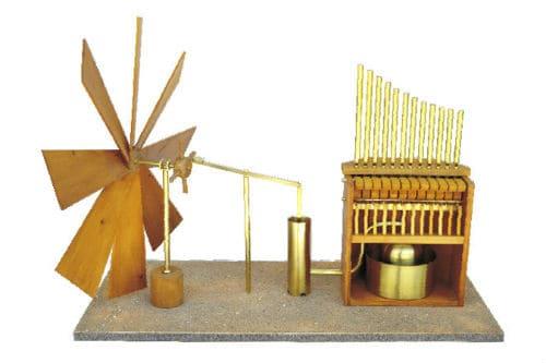 Музыкальный инструмент гидравлос