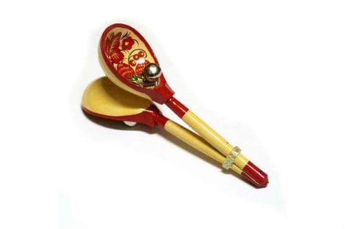 Музыкальный инструмент деревянные ложки