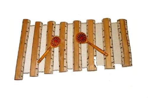 Музыкальный инструмент дрова