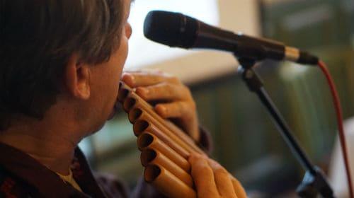 Игра на флейте Пана