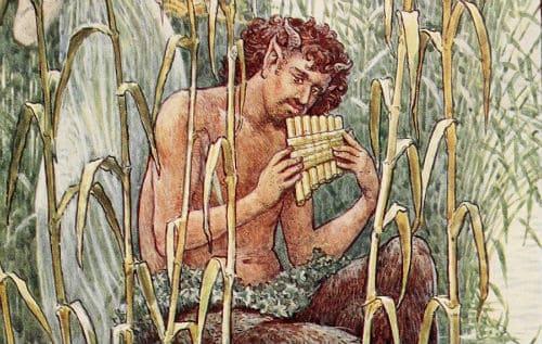 Легенда о боге Пане и флейте