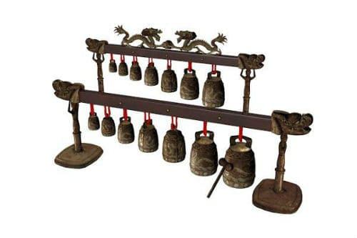 Музыкальный инструмент бяньчжун