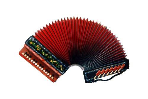 Музыкальный инструмент ливенская гармонь