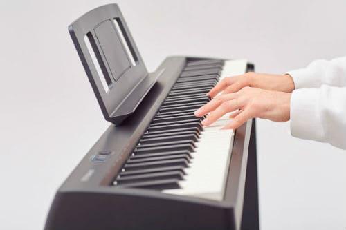 Игра на цифровом пианино