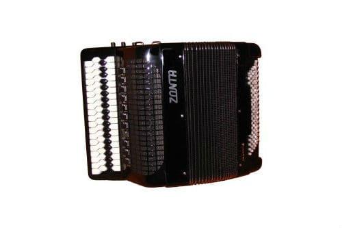 Музыкальный инструмент аккордеон с клавиатурой Кравцова