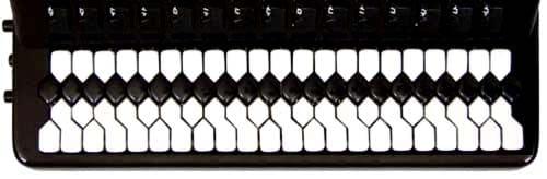 Клавиатура аккордеона системы Николая Кравцова