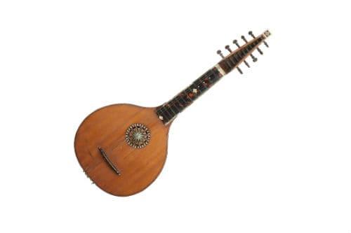 Музыкальный инструмент английская гитара