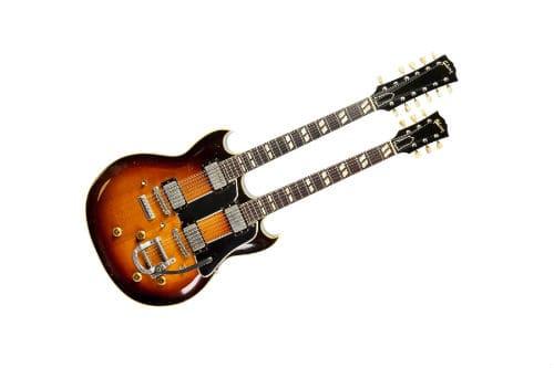 Музыкальный инструмент двухгрифовая гитара