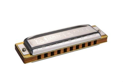 Музыкальный инструмент губная гармоника