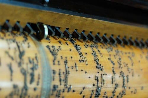 Перфолента механического пианино