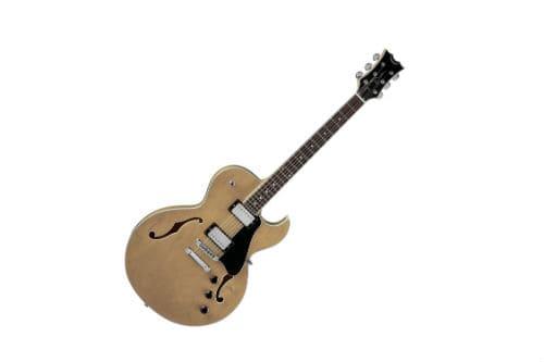 Музыкальный инструмент полуакустическая гитара