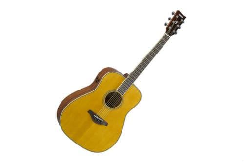 Музыкальный инструмент трансакустическая гитара