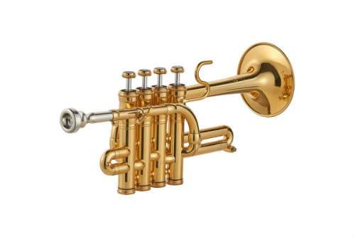 Музыкальный инструмент труба-пикколо